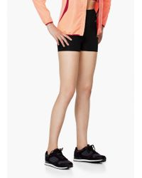 Mango | Black Fitness & Running - High-waist Shorts | Lyst