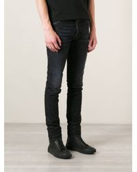 DSquared² - Black Slim Jeans for Men - Lyst
