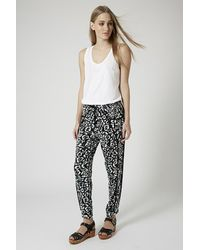 TOPSHOP - Multicolor Seam Detail Relaxed Joggers - Lyst