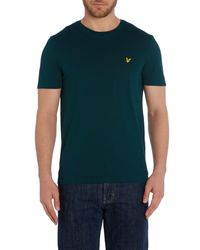 Lyle & Scott - Green Crew Neck T Shirt for Men - Lyst