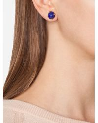 Irene Neuwirth | Blue 18kt Gold Lapis Lazuli Stud Earrings | Lyst