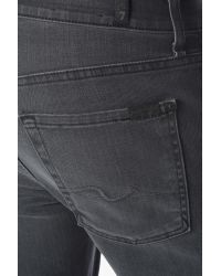 7 For All Mankind Gray Luxe Performance: Carsen Easy Straight In Vacancy for men