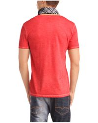 BOSS Orange Red 'toulouse' | Cotton V-neck T-shirt for men