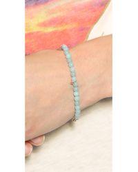 Ginette NY | Blue Elastic Amazonite Bracelet - Amazonite | Lyst