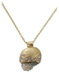 Todd Reed | Yellow Raw Diamond Pendant Necklace | Lyst