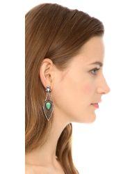 Samantha Wills | Green January Smile Earrings Mint | Lyst