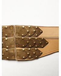 Free People - Natural Penny Corset Belt - Lyst
