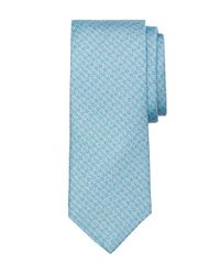 Brooks Brothers - Blue Rope Bit Link Print Tie for Men - Lyst