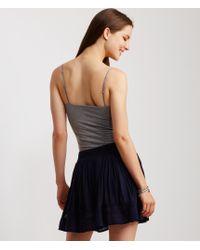 Aéropostale | Blue Lace Inset Flippy Skirt | Lyst