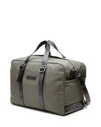 Marc By Marc Jacobs - Cotton Weekender With Leather - Green for Men - Lyst