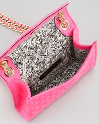 Rebecca Minkoff - Quilted Affair Mini Shoulder Bag Neon Pink - Lyst