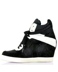 Ash | Cool Black Velcro Sneaker | Lyst