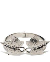 Alexander McQueen | Metallic Ivy Bracelet | Lyst
