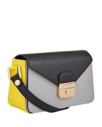 Longchamp - Gray Le Pliage Hã©ritage Crossbody Bag - Lyst