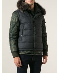 Moncler - Gray Dejan Padded Jacket for Men - Lyst