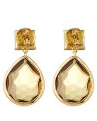 Ippolita | Metallic Gold Citrine And Quartz Rock Candy Gelato Snowman Earrings | Lyst