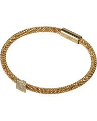 Links of London - Metallic Star Dust Mesh Square Bracelet - For Women - Lyst