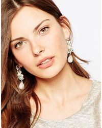 ALDO | Metallic Aidia Drop Earrings | Lyst