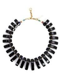 Lizzie Fortunato | Black 'tile' Necklace | Lyst