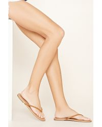 Forever 21 - Brown Braided Sandals - Lyst