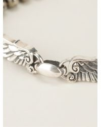 King Baby Studio | Metallic Beaded Wing Span Bracelet | Lyst