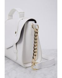 Forever 21 | Natural Faux Leather Envelope Crossbody | Lyst