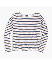J.Crew | Brown Saint James Slouchy T-shirt | Lyst