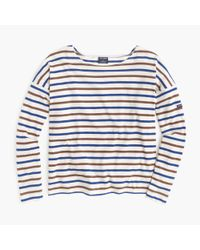 J.Crew - Blue Saint James Slouchy T-shirt - Lyst