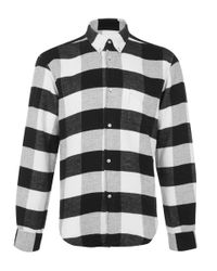 Our Legacy - Black 1950s Large Check Button-down Shirt for Men - Lyst