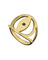Jennifer Zeuner | Metallic Gabby Ring | Lyst