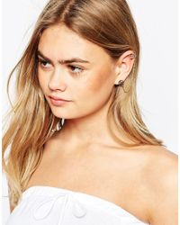 ASOS | Metallic Single Linked Festival Ear Cuff | Lyst