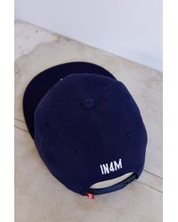 Urban Outfitters - Blue In4mation New York Script Snapback Hat - Lyst