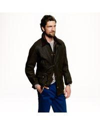 Barbour | Green Sylkoil Ashby Jacket for Men | Lyst