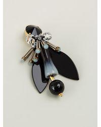 Marni | Black Winged Earrings | Lyst