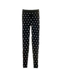 Madewell | Black Spotted Sweater-Leggings | Lyst