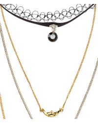 H&M | Metallic 6-pack Necklaces | Lyst