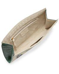 Nancy Gonzalez - Natural Laser-cut Taj Mahal Crocodile Clutch Bag - Lyst