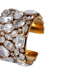 Stella McCartney - Metallic Stones Cuff - Lyst