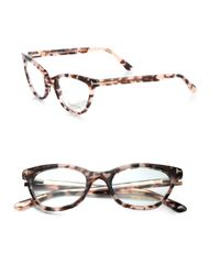 Tom Ford | Catseye Acetate Eye Glasses | Lyst