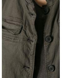 Rundholz - Green Oil Stretch Jacket - Lyst