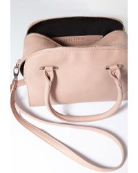 Forever 21 | Pink Double-zip Faux Leather Satchel | Lyst