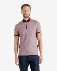 Ted Baker - Red Chapmun Polo Shirt for Men - Lyst