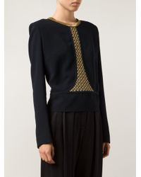 Sass & Bide - Blue 'Run And Hide' Blouse - Lyst