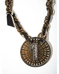 Lanvin - Gray Womens Necklace - Lyst