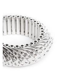 Eddie Borgo - Metallic Aerator Bracelet - Lyst