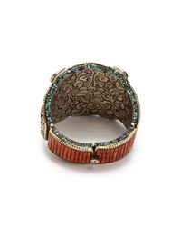 Vanessa Mooney - Metallic Messalina Bracelet - Lyst