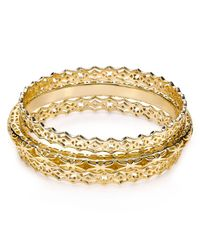 Kendra Scott - Metallic Raleigh Bangles Set Of 3 - Lyst