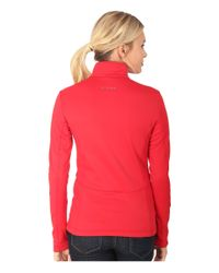 Spyder | Red Savona Therma Stretch T-neck | Lyst