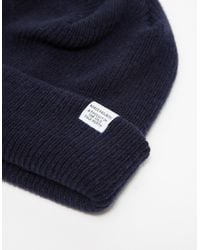 Norse Projects | Blue Norse Beanie for Men | Lyst