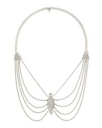Stephen Webster | White Layered Pendant Necklace | Lyst